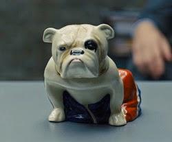 James Bond M Bulldog desk copy