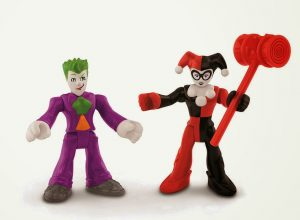 Joker Harley Quinn Fisher Price action figures