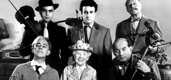 Ladykillers 1955 comedy cast