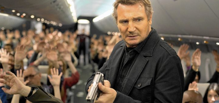 Liam Neeson Non Stop action movie