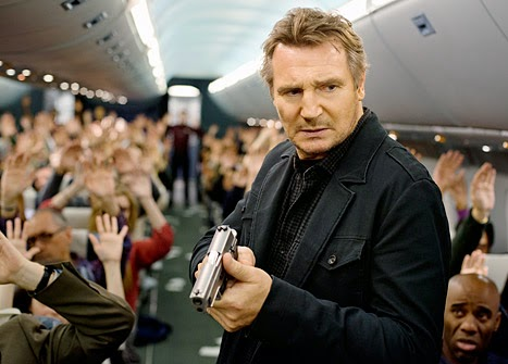 Non-Stop Liam Neeson action movie 2014