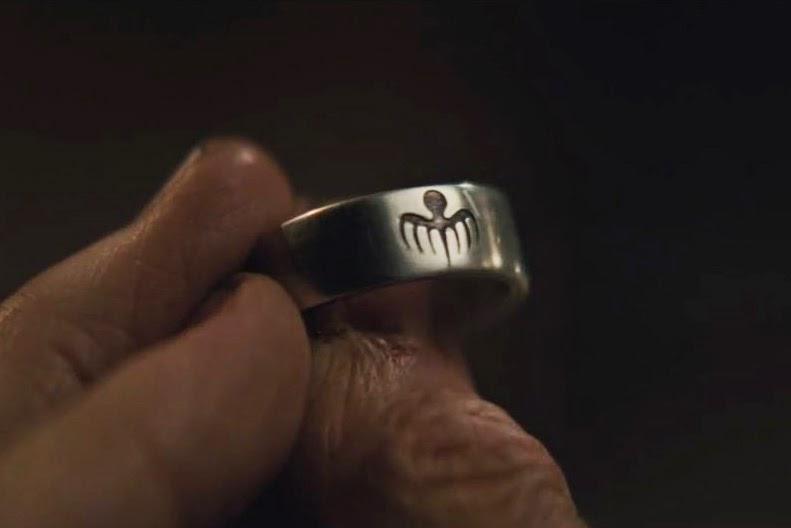 Spectre Teaser Trailer Ring Logo