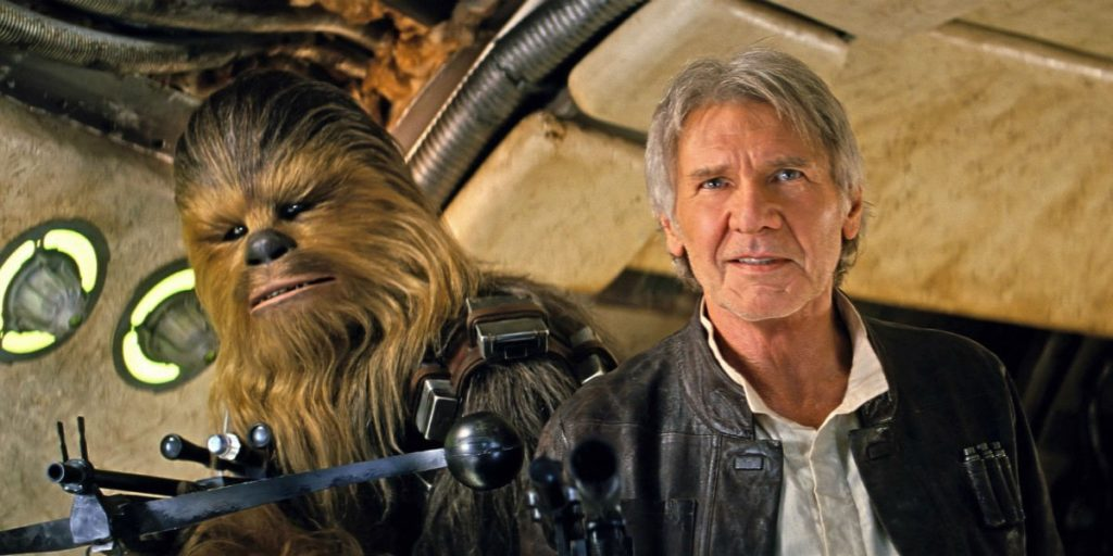 Star Wars Force Awakens Han Solo Chewbacca