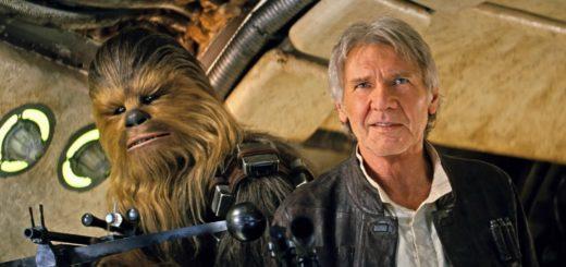 Star Wars Force Awakens Han Solo Chewbacca
