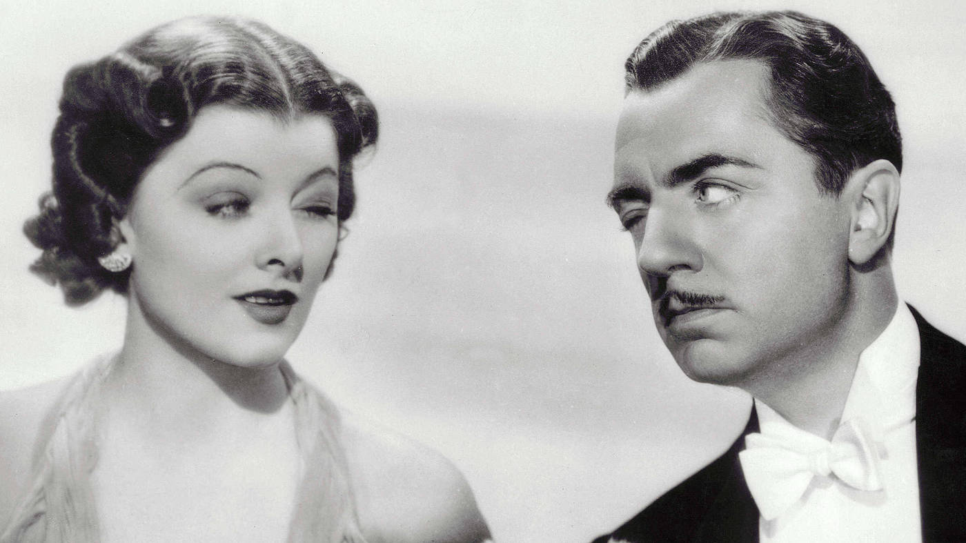 Thin Man 1934 William Powell Myrna Loy