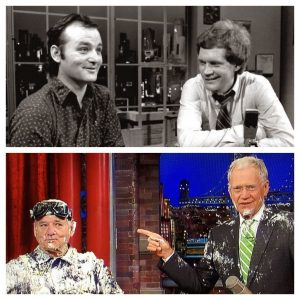 Bill Murray David Letterman Late Show Night first last guest