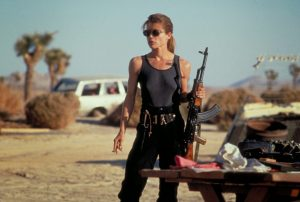 Linda Hamilton Sarah Conner Terminator 2 1991
