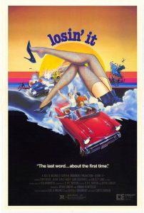 Losin It 1983 movie poster