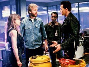 Terminator 2 1991 James Cameron Linda Hamilton Arnold Schwarzengger