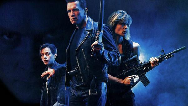 Terminator 2 1991 Schwarzenegger Furlong Hamilton