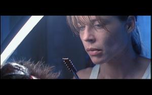 Terminator 2 deleted scene Sarah chip cpu