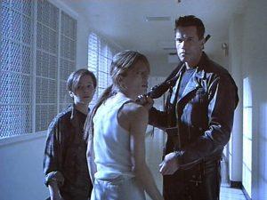 Terminator 2 mental hospital Sarah Conner John Arnold