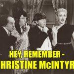 Christine McIntyre Three Stooges Micro-Phonies