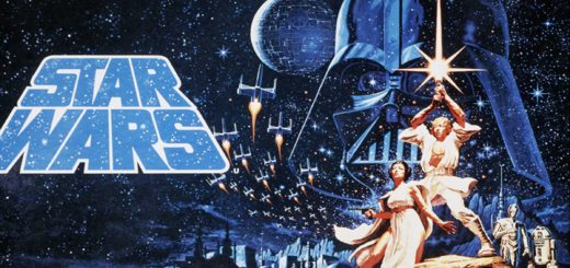 Star Wars 1977 movie poster