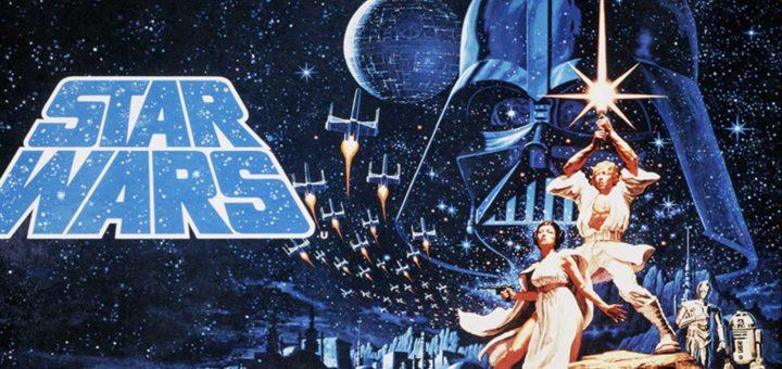 Star Wars 1977 movie poster