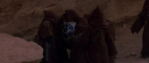 Star Wars Jawas finding R2D2