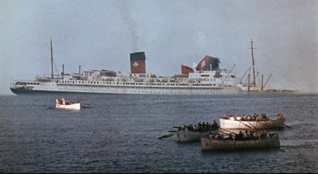 The Last Voyage 1960 ship sinking