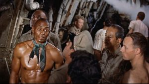 The Last Voyage Woody Strode 1960 disaster movie sinking ship