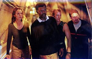 Deep Blue Sea 1999 Samuel Jackson Thomas Jane cast