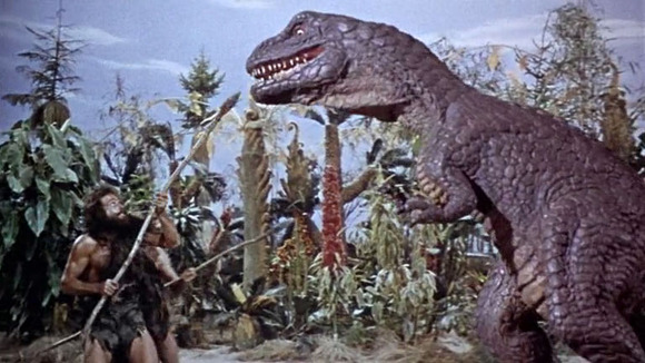 Dinosaur One Million Years BC Ray Harryhausen