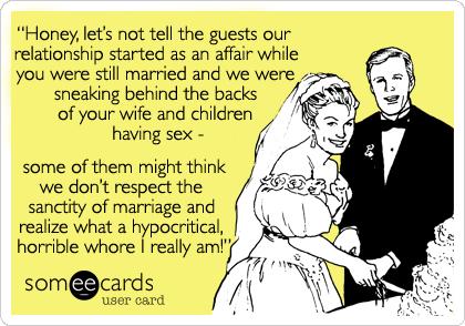 marry mistress cheating husband