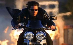 Mission Impossible 2 2000 Tom Cruise motorcycle
