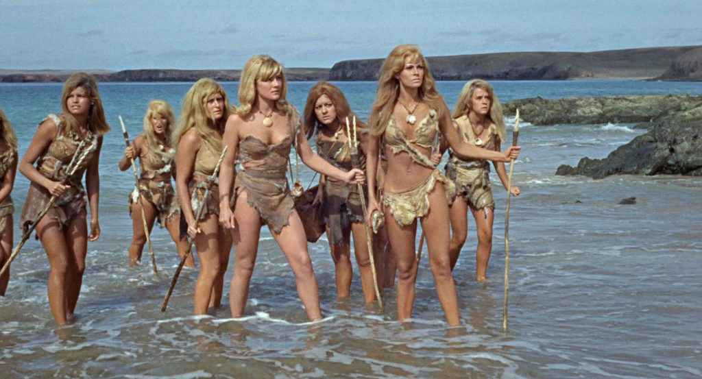 One Million Years BC 1966 Raquel Welch cavegirl dinosaurs