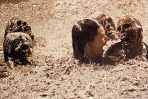 Poltergeist 1982 pool of skeletons horror movie