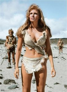 Raquel Welch One Million Years BC 1966 sexy cavegirl outfit