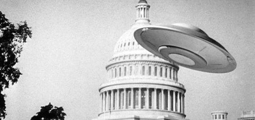Earth vs Flying Saucers sci-fi 1956