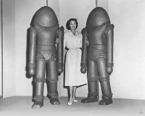 Earth vs the Flying Saucers 1956 alien costumes