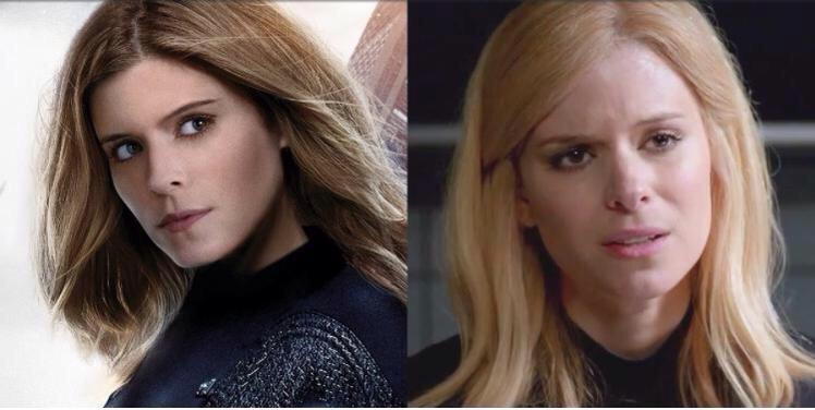 Kate Mara Fantastic Four wig reshoots