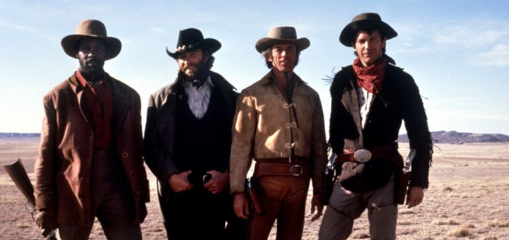 Silverado 1985 western movie cast