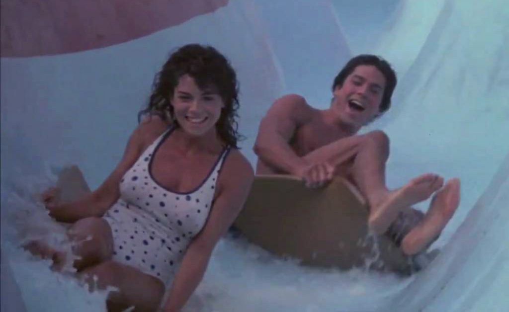 Tomboy 1985 Betsy Russell bathing suit