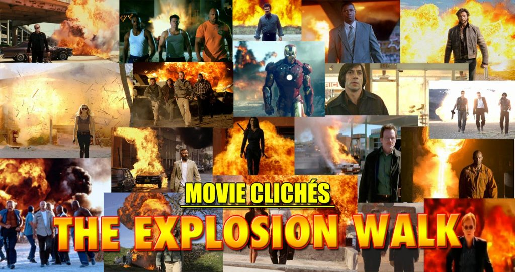 Explosion Walk Movie Action Cliche