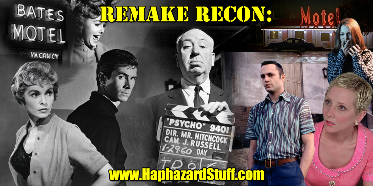 Remake Recon Psycho Alfred Hitchcock movie review remake