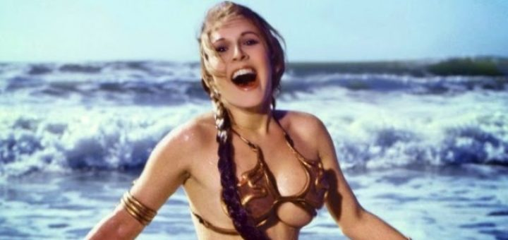 Carrie Fisher Slave Leia costume