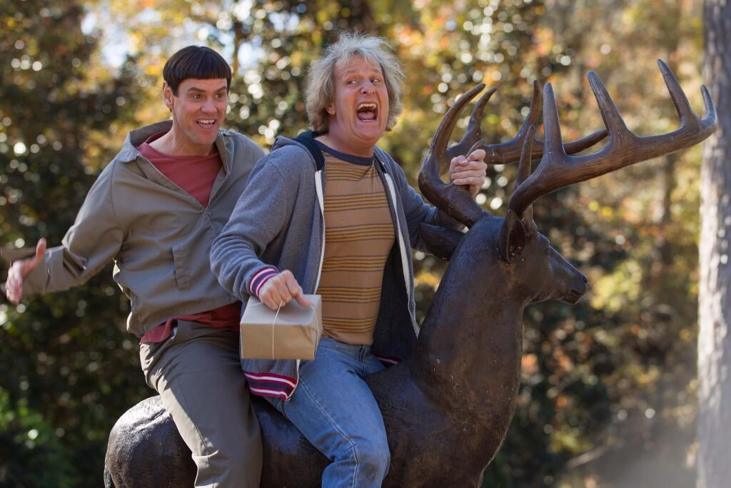 Dumb and Dumber To 2 Jim Carrey Jeff Daniels comedy sequel