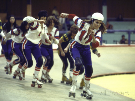 Kansas City Bomber 1972 roller derby sports movie