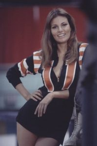 Kansas City Bomber Raquel Welch sexy 1972