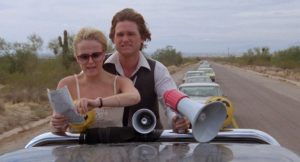 Kurt Russell Deborah Harmon Used Cars movie 1980