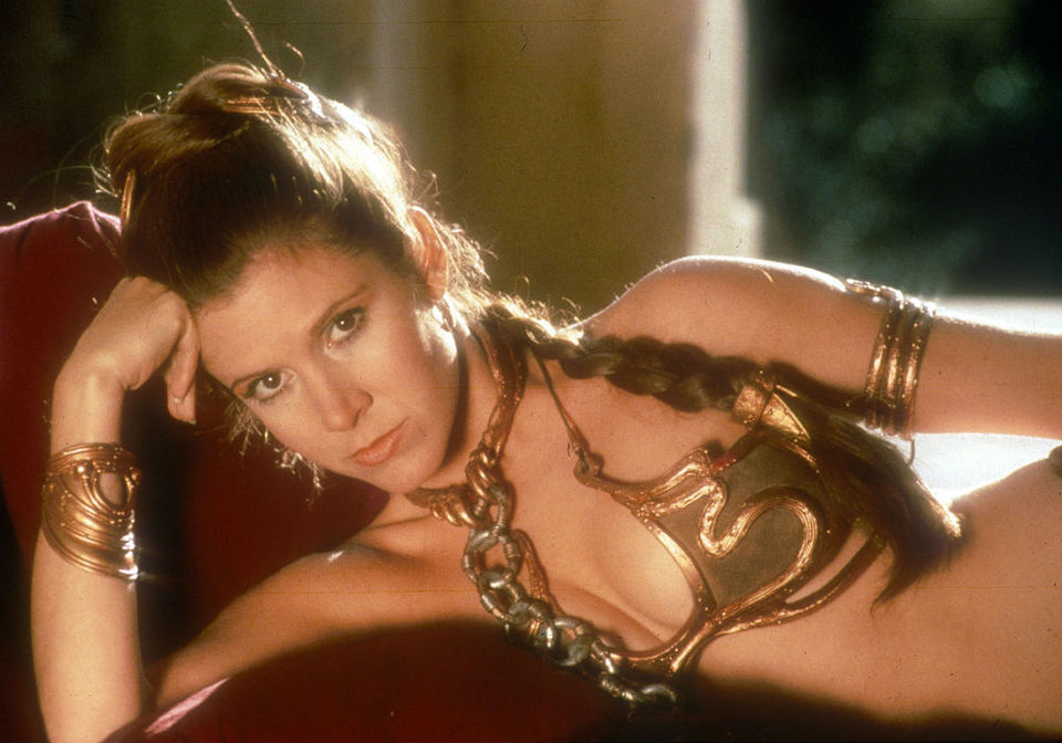 Slave Leia Return of the Jedi sexy Carrie Fisher