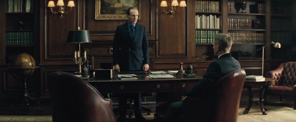Spectre Ralph Fiennes Daniel Craig M James Bond