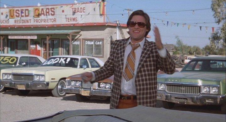 Kurt Russell Car Sales Movie