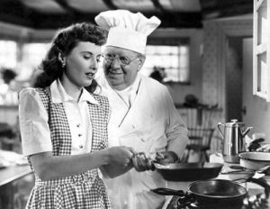 Barbara Stanwyck S.Z. Sakall Christmas in Connecticut holiday comedy 1945
