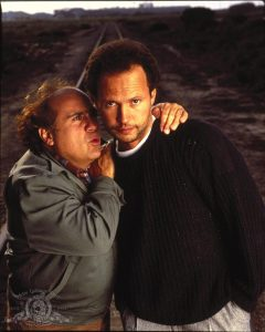 Danny DeVito Billy Crystal Throw Momma From The Train black comedy 1987