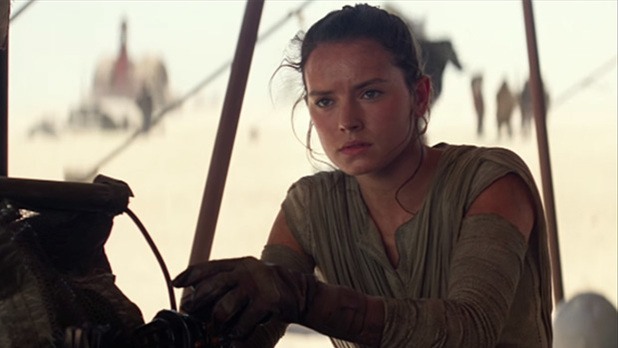 Star Wars The Force Awakens Daisy Ridley Rey