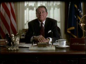 Richard Crenna as Ronald Reagan Day Shot cable movie 2001