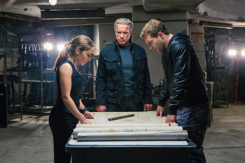 Terminator Gneiss Emilia Clarke Arnold Schwarzenegger Jai Courtney