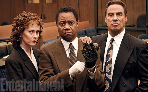 The People v O.J. Simpson Paulson Gooding Travolta